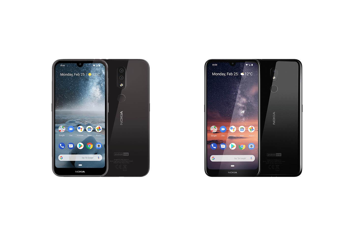 Nokia 4.2 et Nokia 3.2