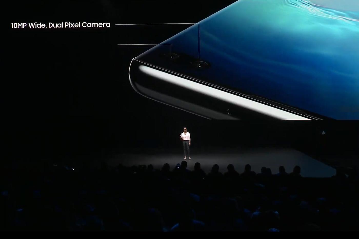 Samsung Galaxy S10 capteurs