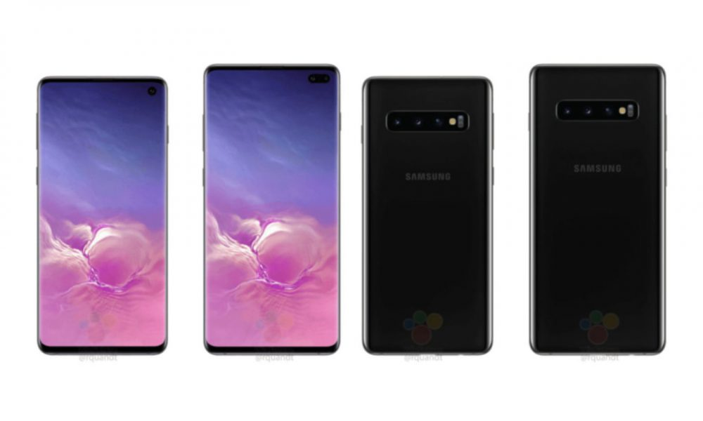 Le design du Samsung Galaxy S10