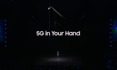 Samsung S10 5G in your hands