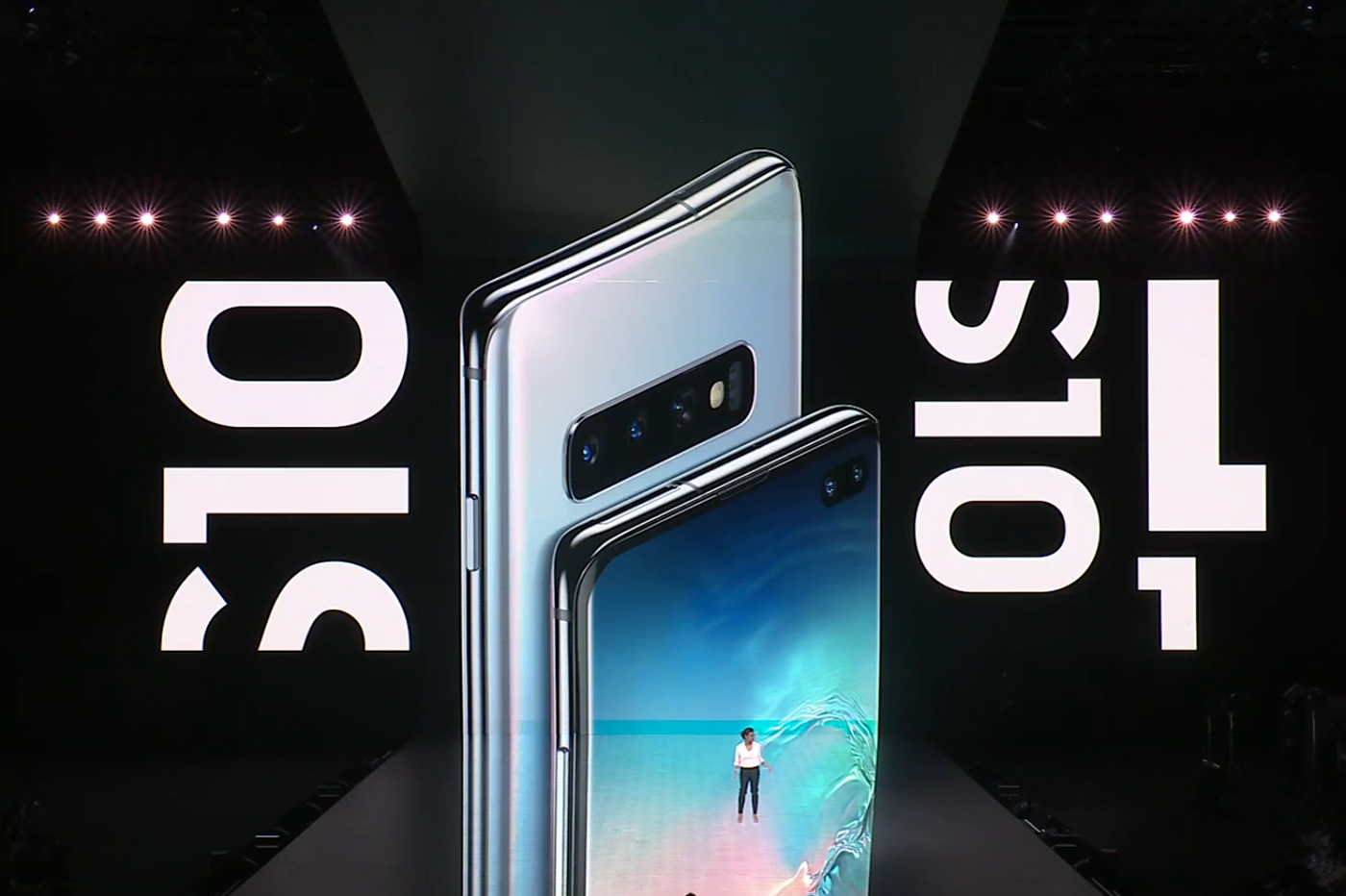 Samsung Galaxy S10 design