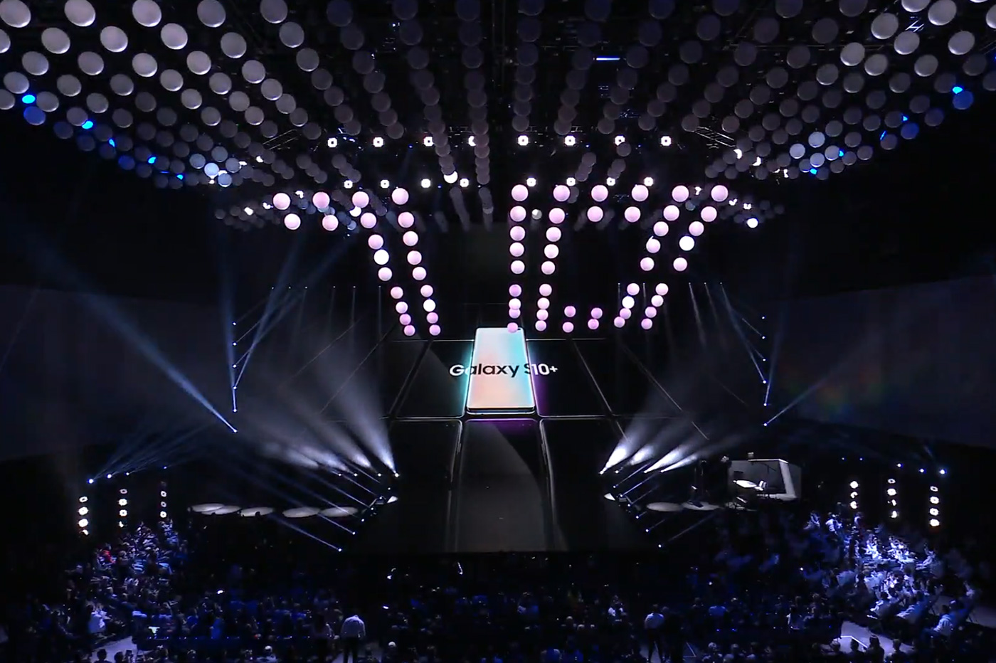 Samsung Galaxy S10 présentation
