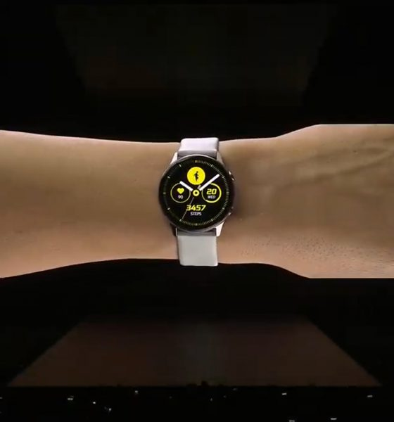 Samsung Galaxy Watch bras