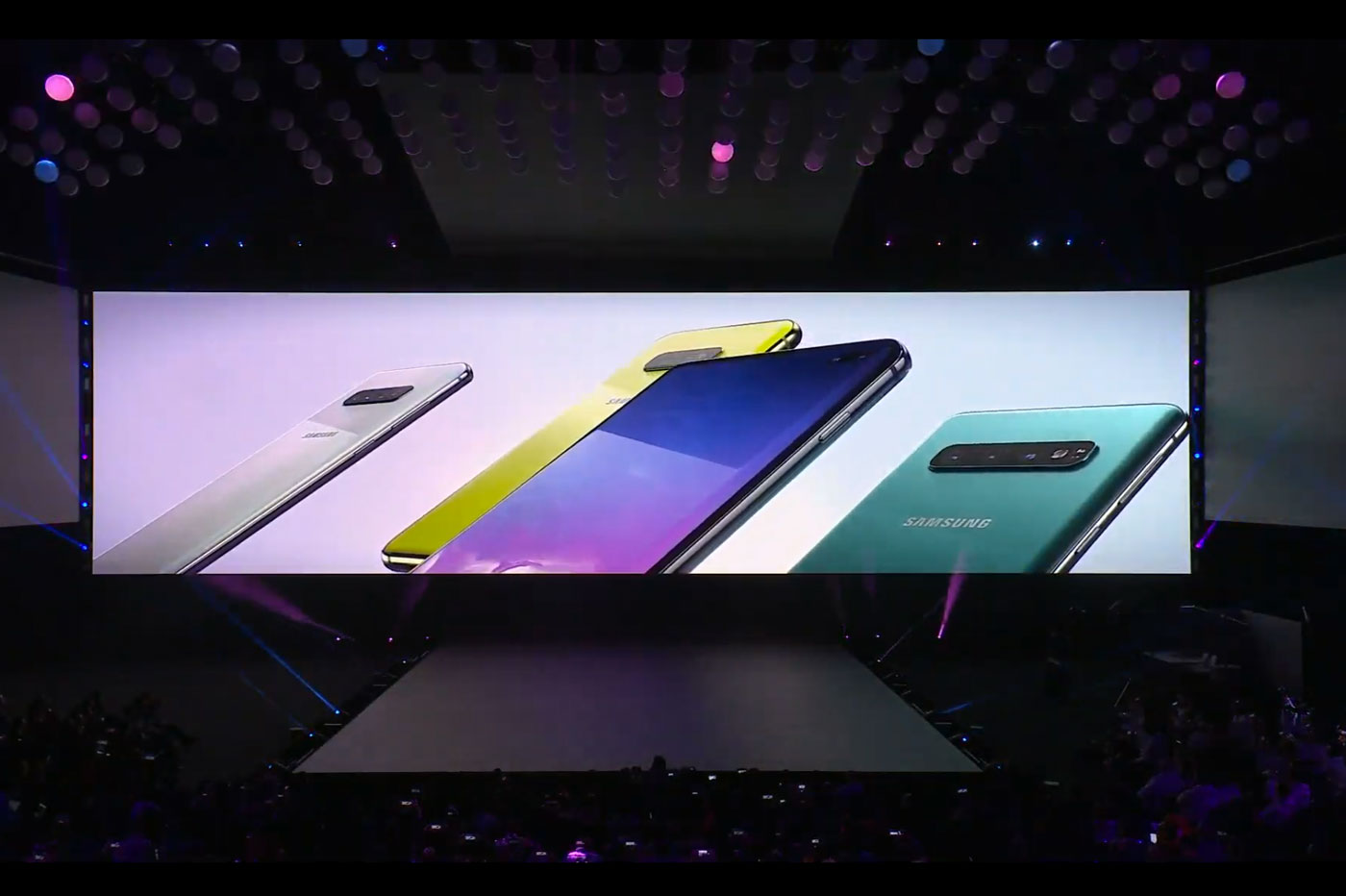 Le triple capteur photo du Galaxy S10