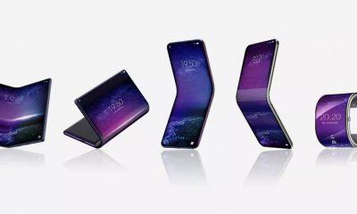 TCL smartphones pliables