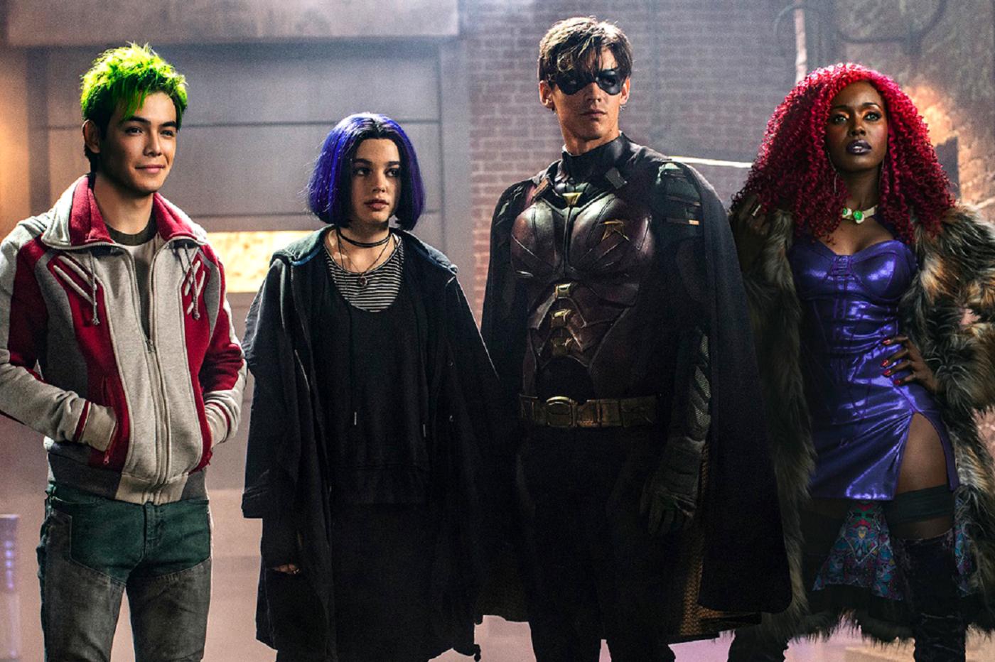 Titans saison 1 critique avis scène post-crédit superboy