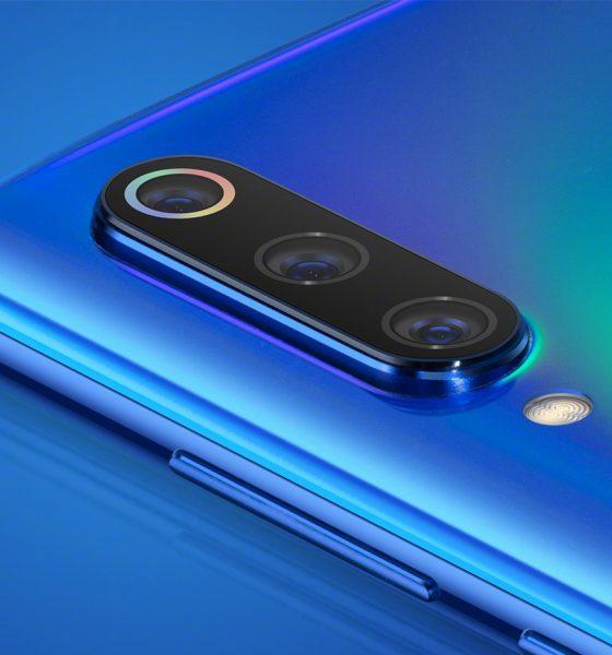 Xiaomi Mi 9 capteurs photo