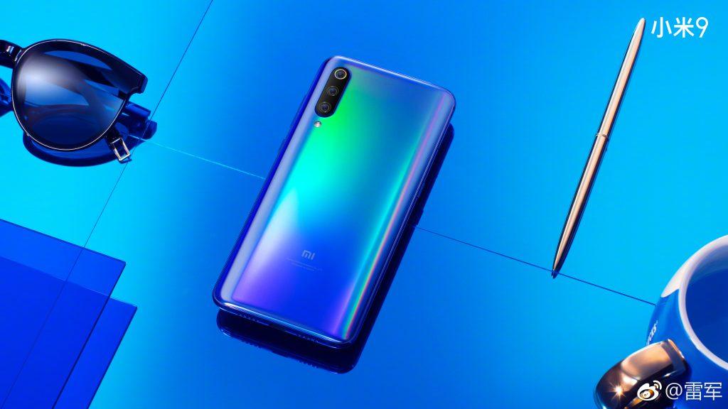 Xiaomi Mi 9 dos couleurs