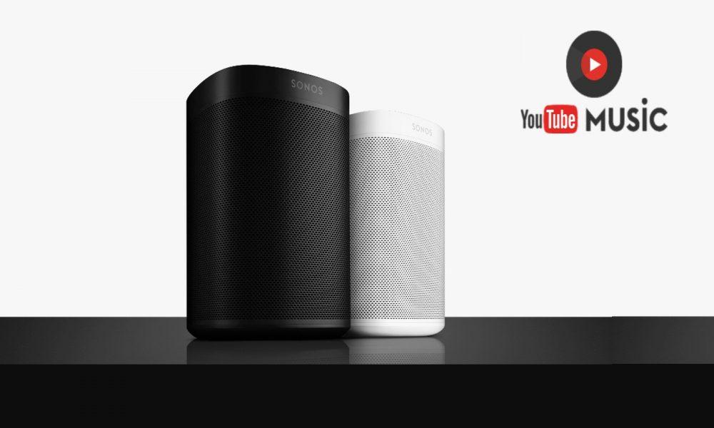 YouTube Music arrive sur les enceintes Sonos