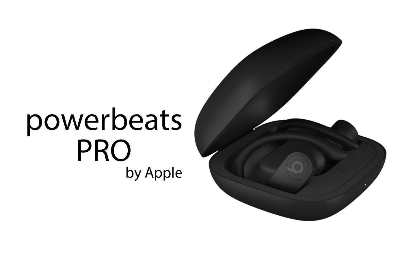Une fuite révèle les écouteurs Powerbeats Pro par erreur