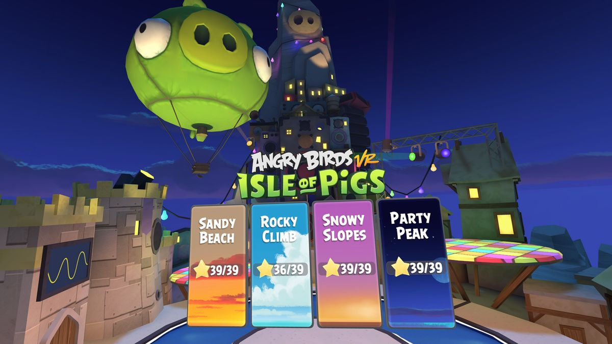 Angry Birds PS Vr