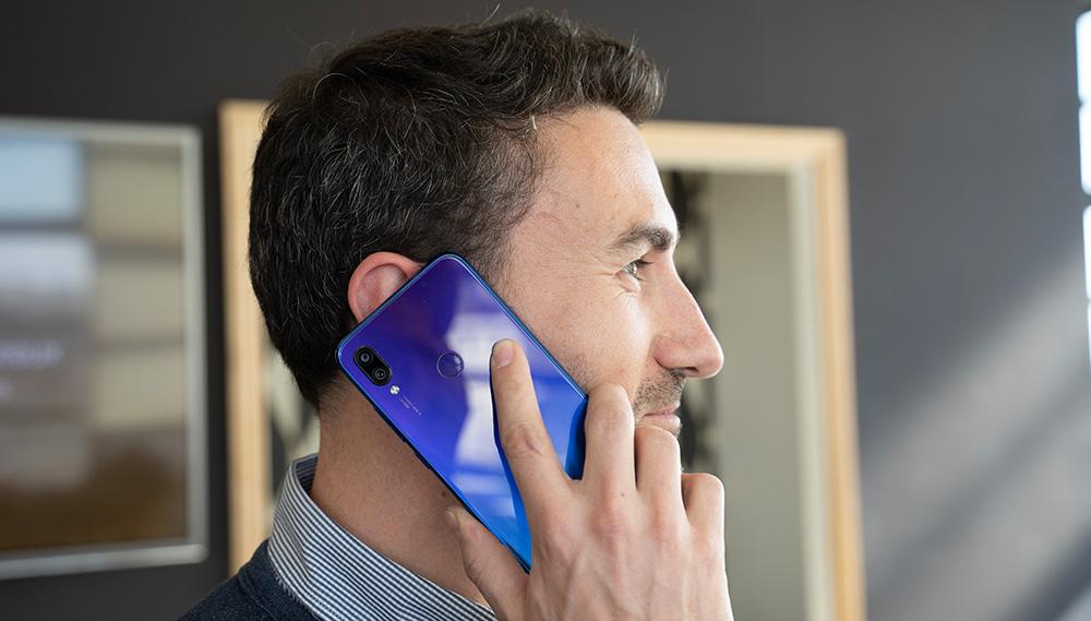 Un appel avec le Redmi Note 7