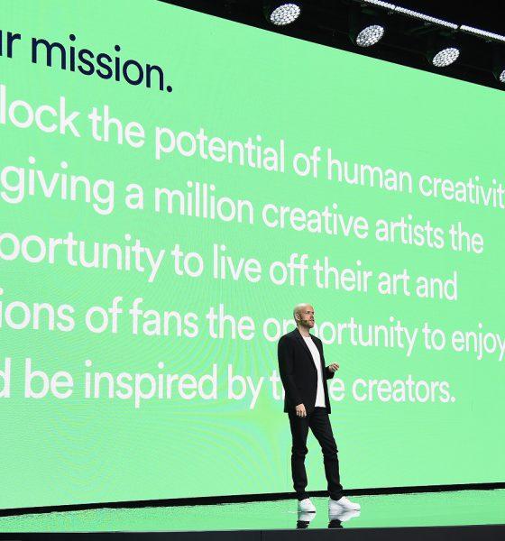 Daniel Ek, le patron de Spotify