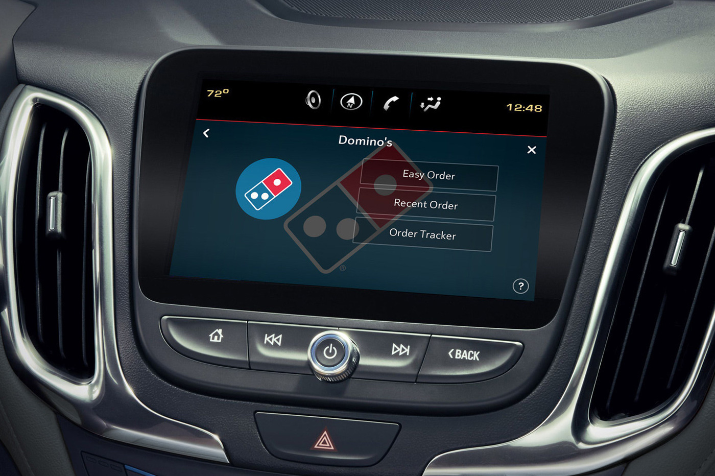 Dominos-Pizza-Car