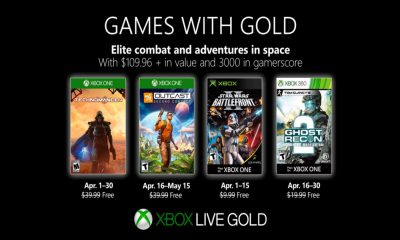 Games with Gold avril 2019