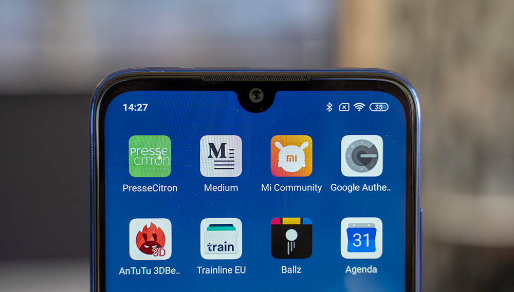 Encoche du Redmi Note 7