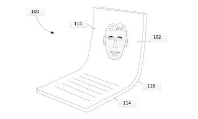 Le brevet d'écran pliable de Google