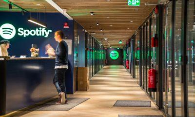 Les bureaux de Spotify