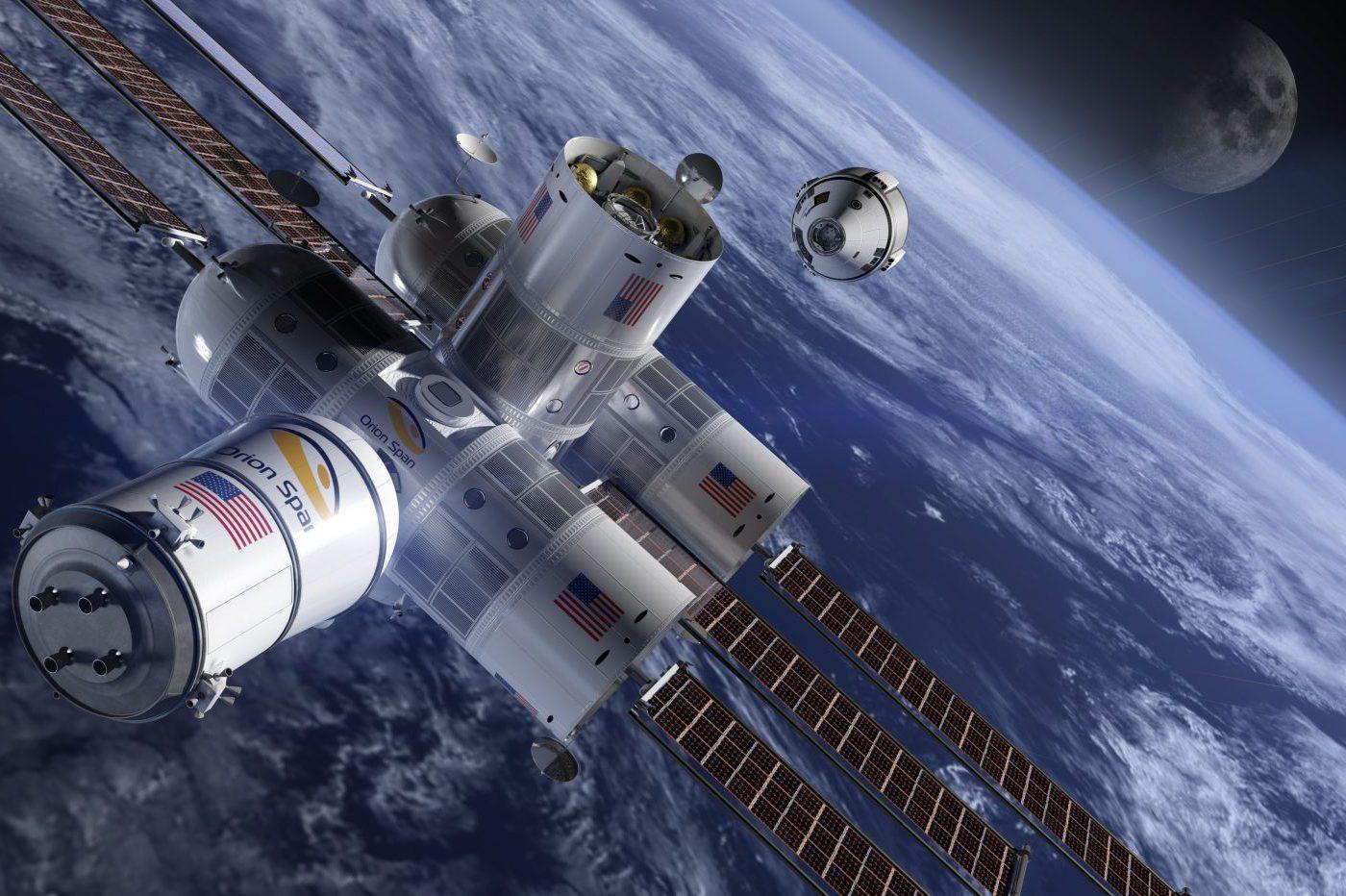 Aurora Station, l'hôtel spatial de tous les excès