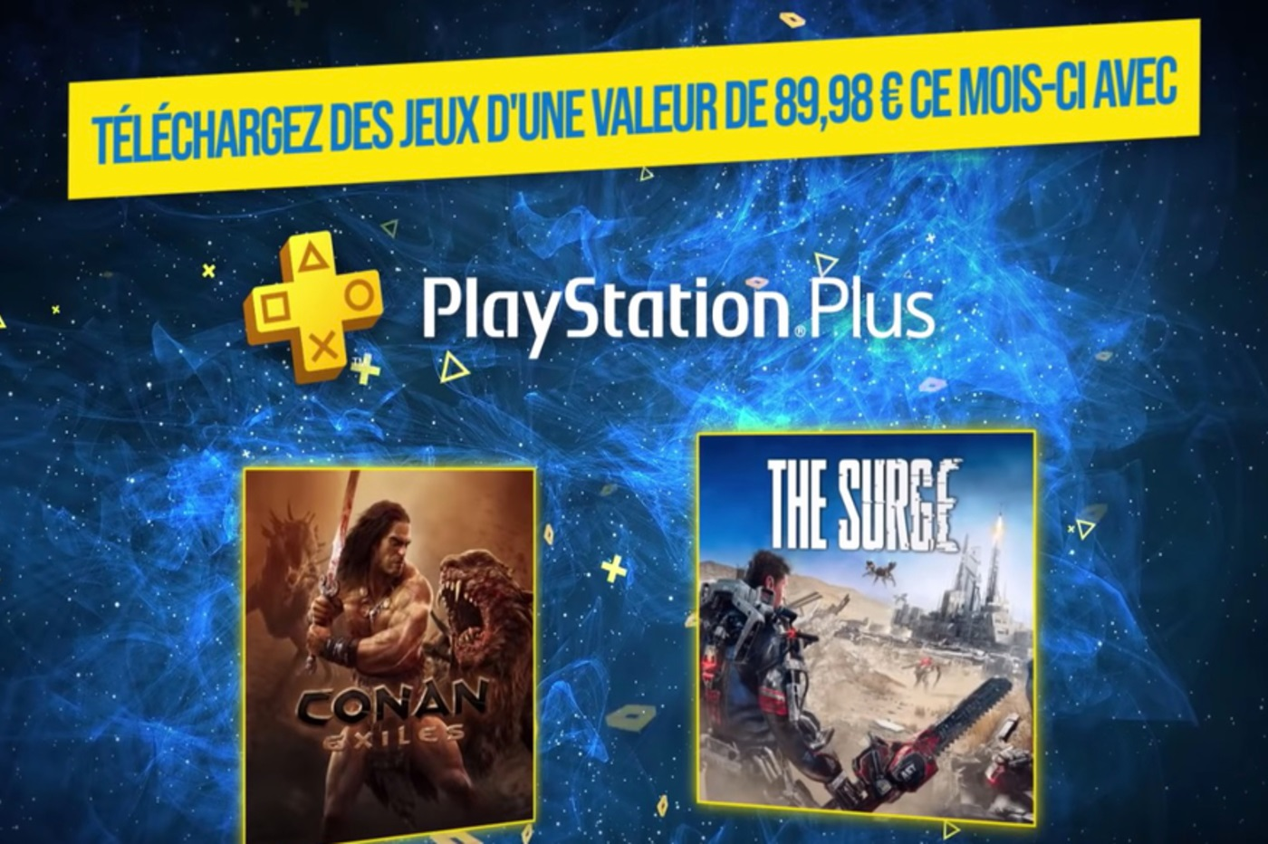 PlayStation Plus avril 2019