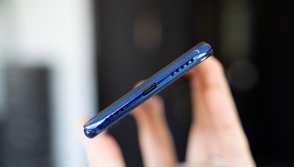 Port USB-C sur le Redmi Note 7
