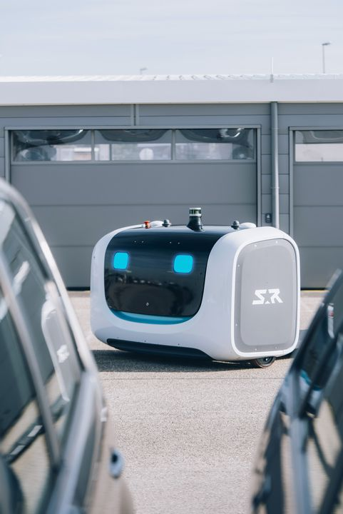 Stan Robot Parking Aeroport Lyon