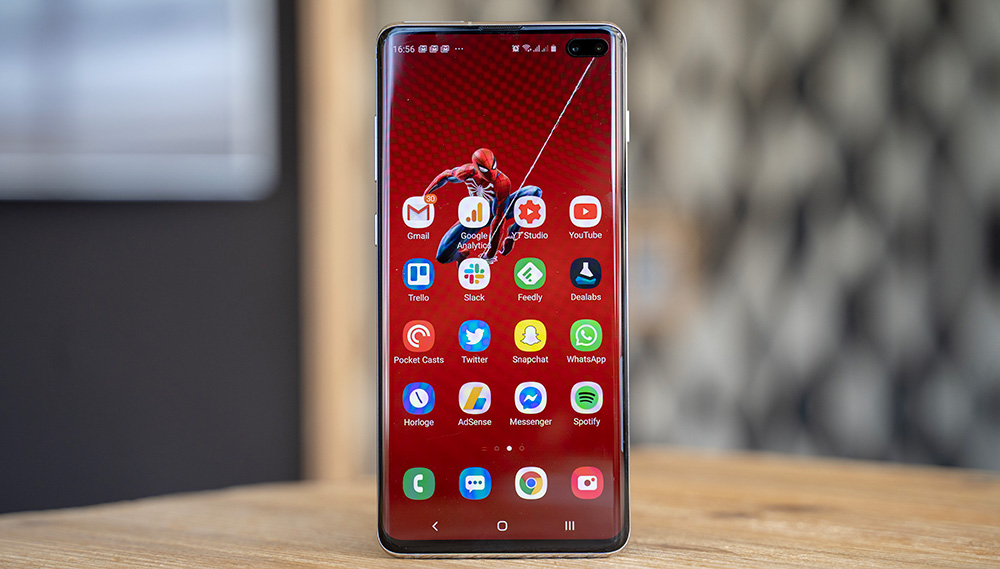 Taille Samsung Galaxy S10+