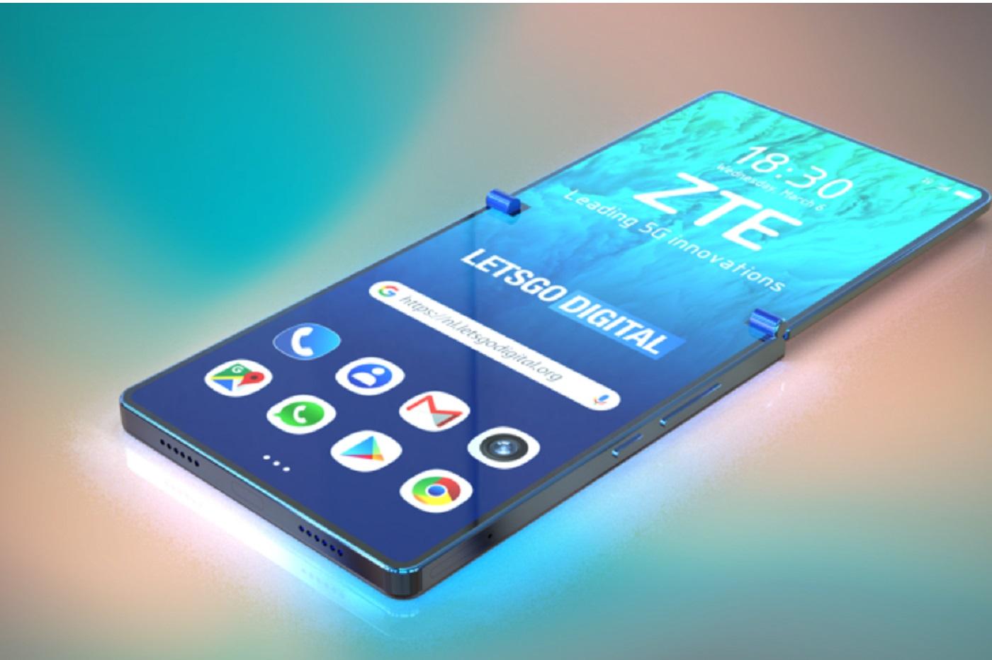 ZTE et smartphone pliable