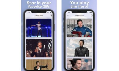 Application Morphin GIFs stars