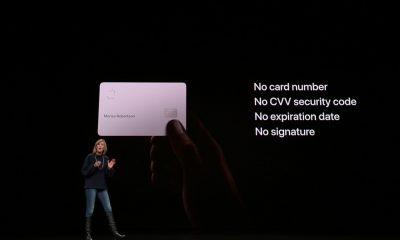 Apple card carte signature