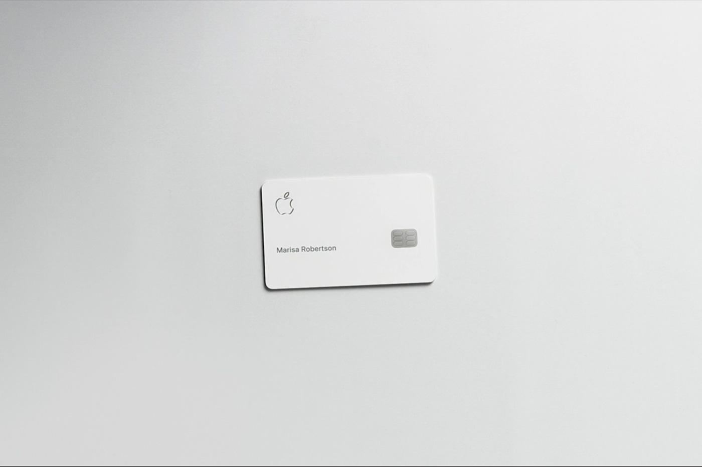 Apple card carte