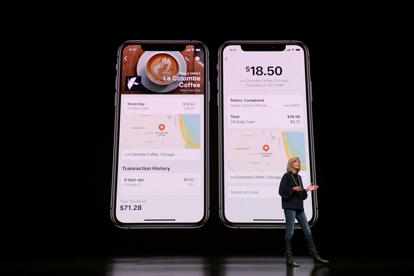 Apple card historique dépenses