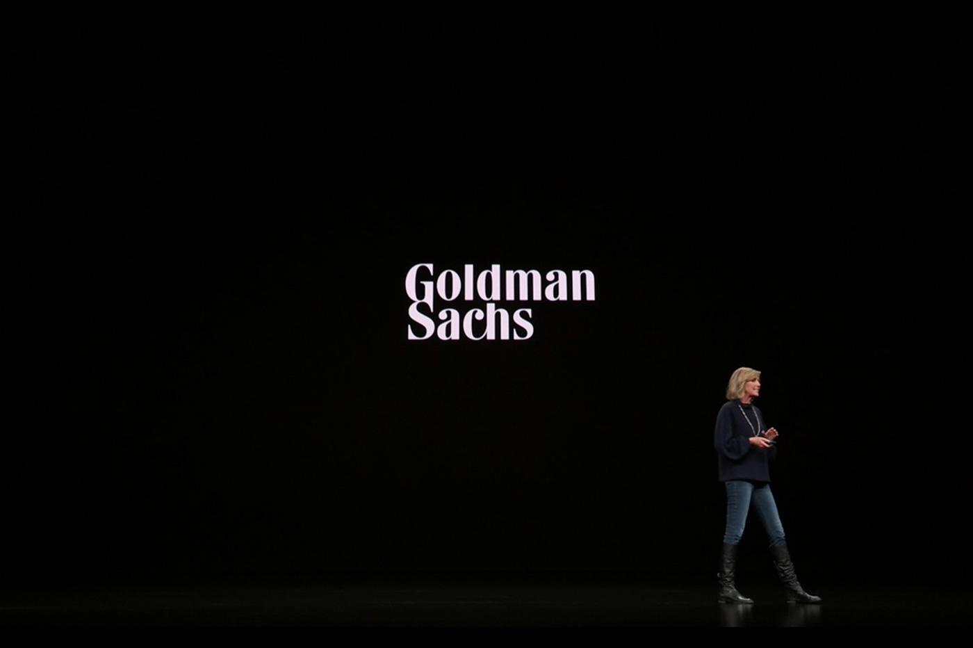 Apple card Goldman Sachs