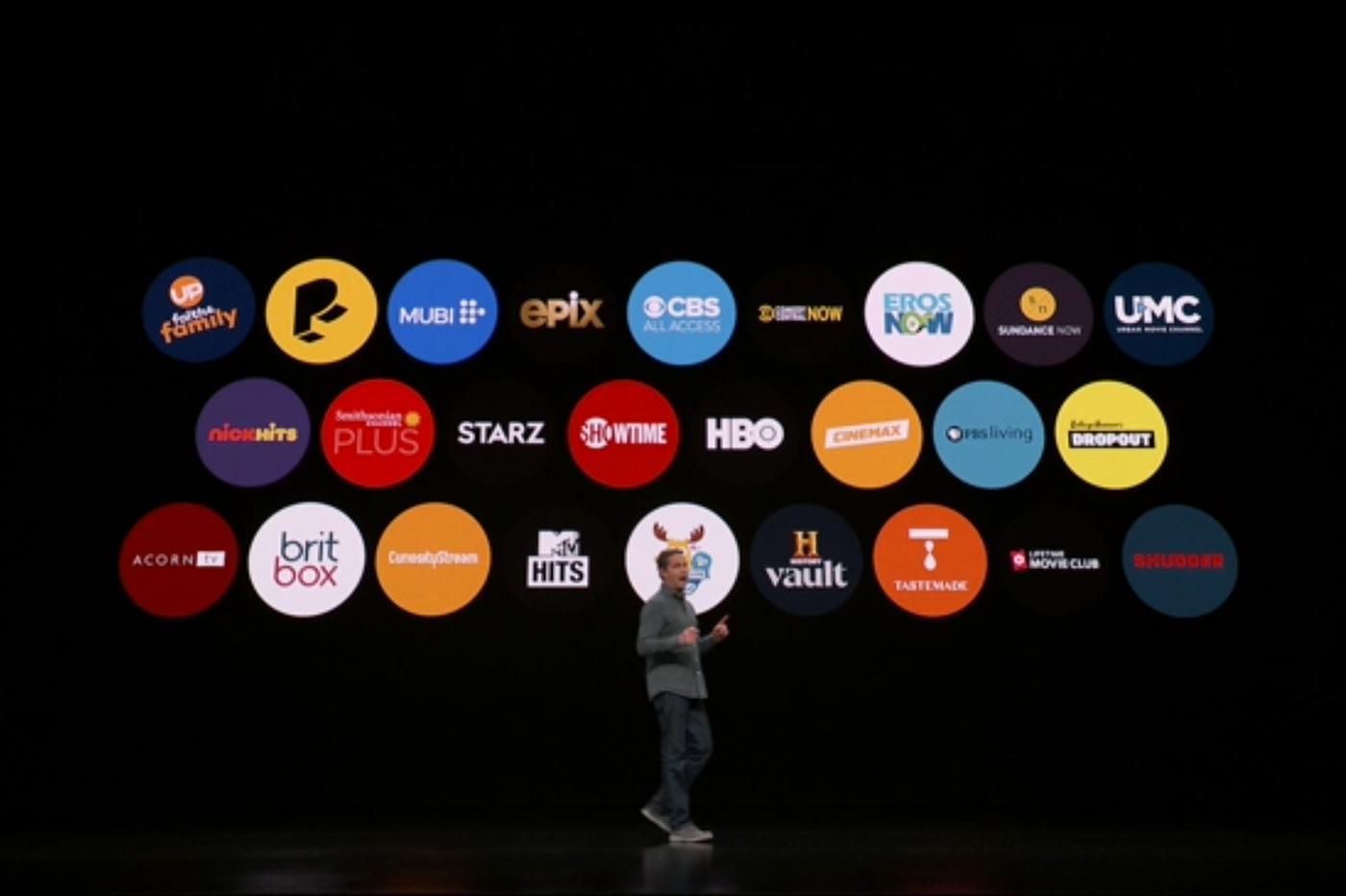 Apple TV chaines
