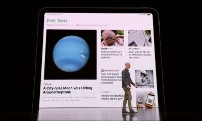 Contenu personnalisé sur Apple News +