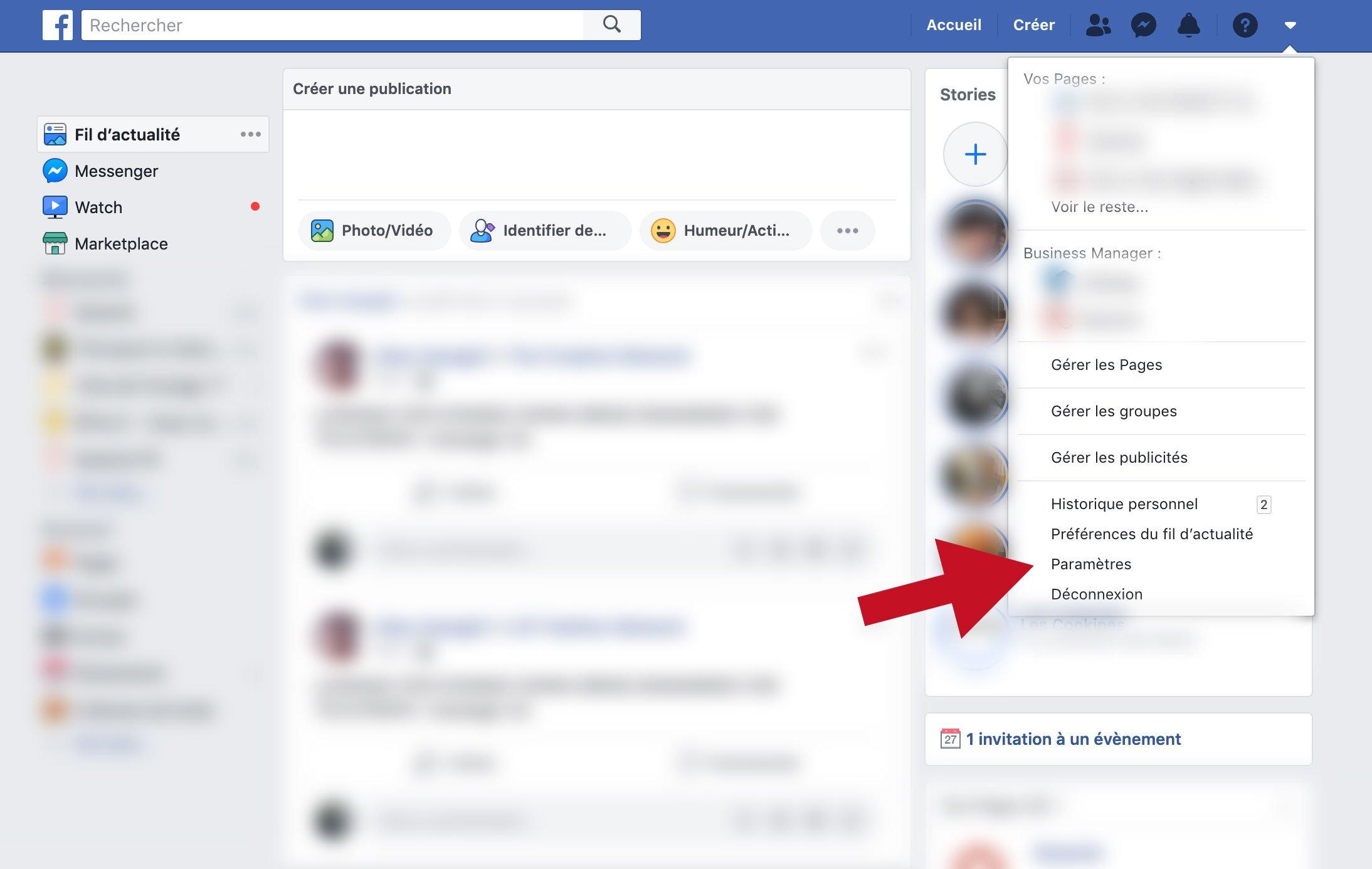 Bloquer une vidéo sur Facebook
