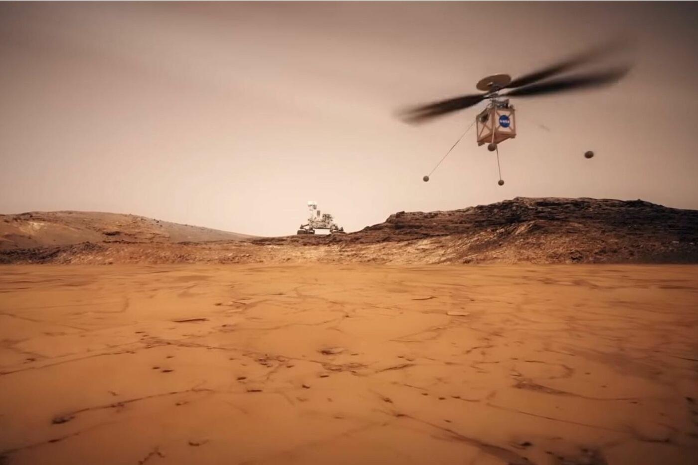 La NASA a testé son hélicoptère