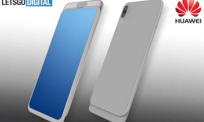 Huawei écran coulissant