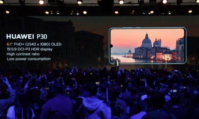 Huawei P30 écran