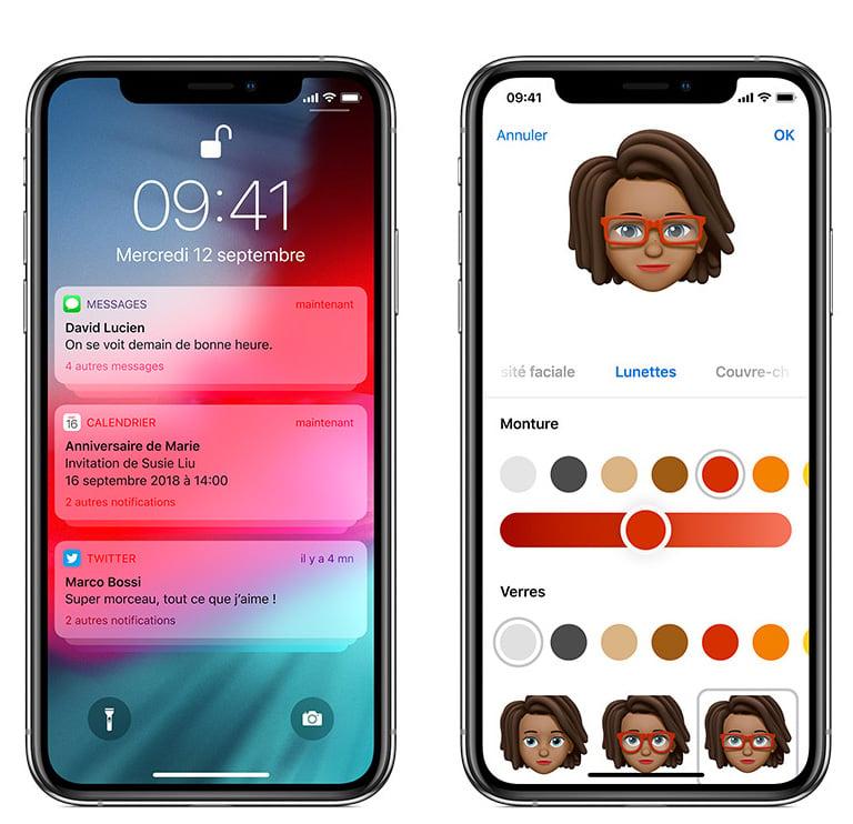 iPhone Apple heure 9h41 iOS 12