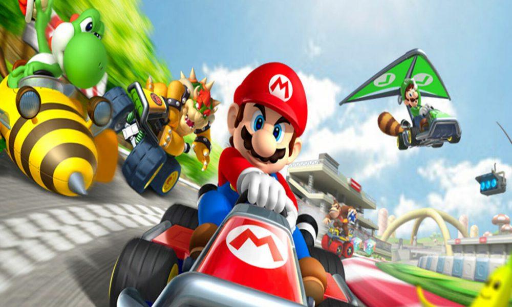 Mario Kart à Paris : Mushroom Rallye Karting