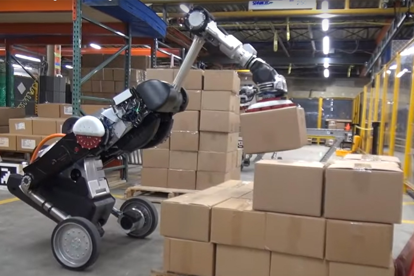 robot Boston Dynamics jenga
