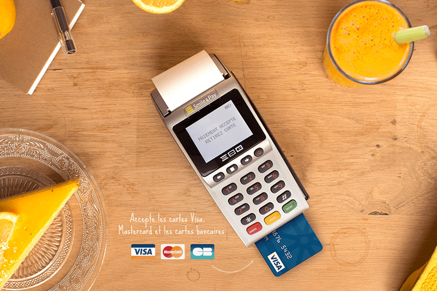 Le TPE classique Smile & Pay