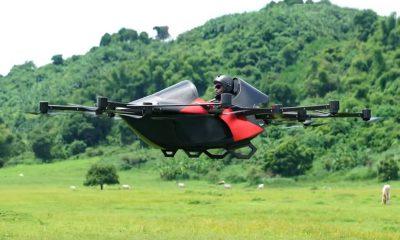 voiture volante drone