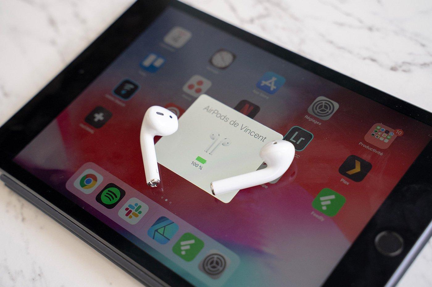Airpods 2 iPad