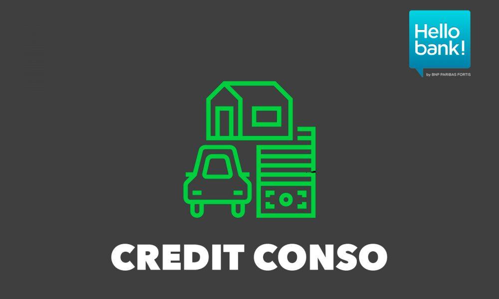 Credit Conso Hello Bank!