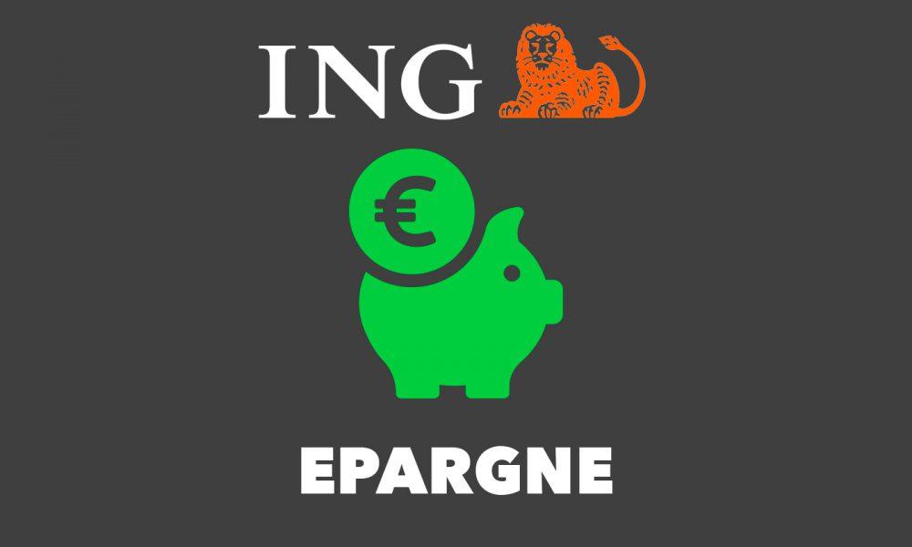 Livret épargne ING