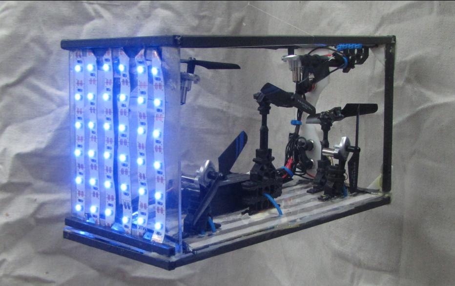 Le Robot GermRover
