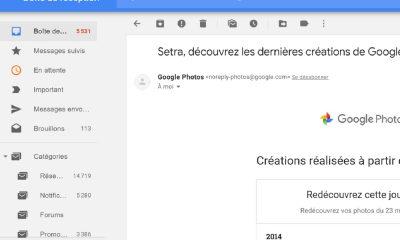 Inbox theme pour Gmail