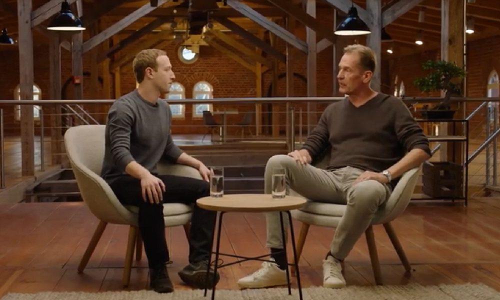 Mark Zuckerberg et le patron d'Axel Springer